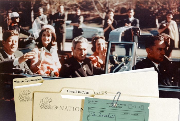 JFK, files