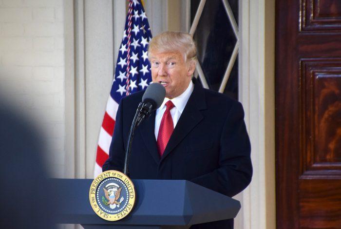 Donald Trump, President