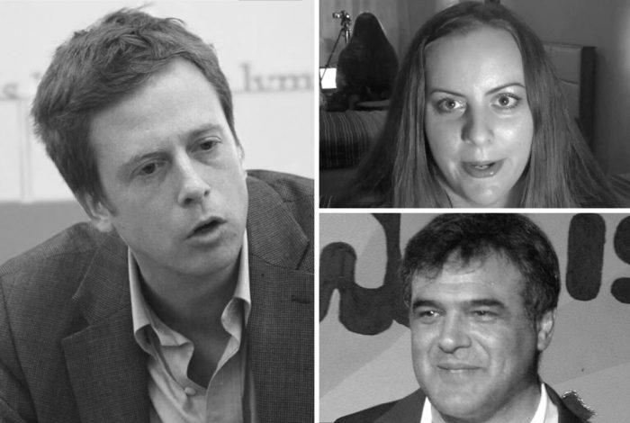 Barrett Brown, Suzie Dawson, John Kiriakou