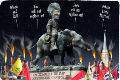 Donald Trump, Charlottesville, Nazis, KKK, Alt Right