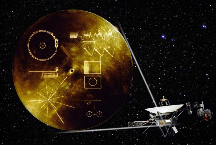 Voyager, golden record