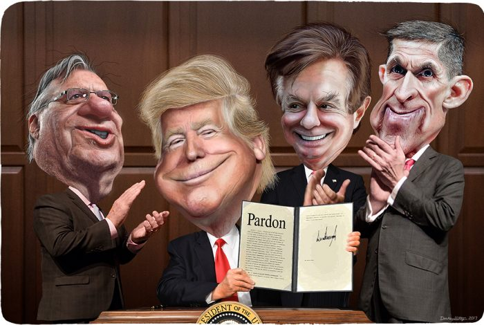 Joe Arpaio, Donald Trump, Paul Manafort, Michael Flynn