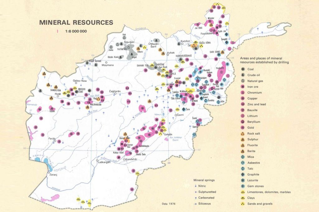 Afghanistan Mineral Resources