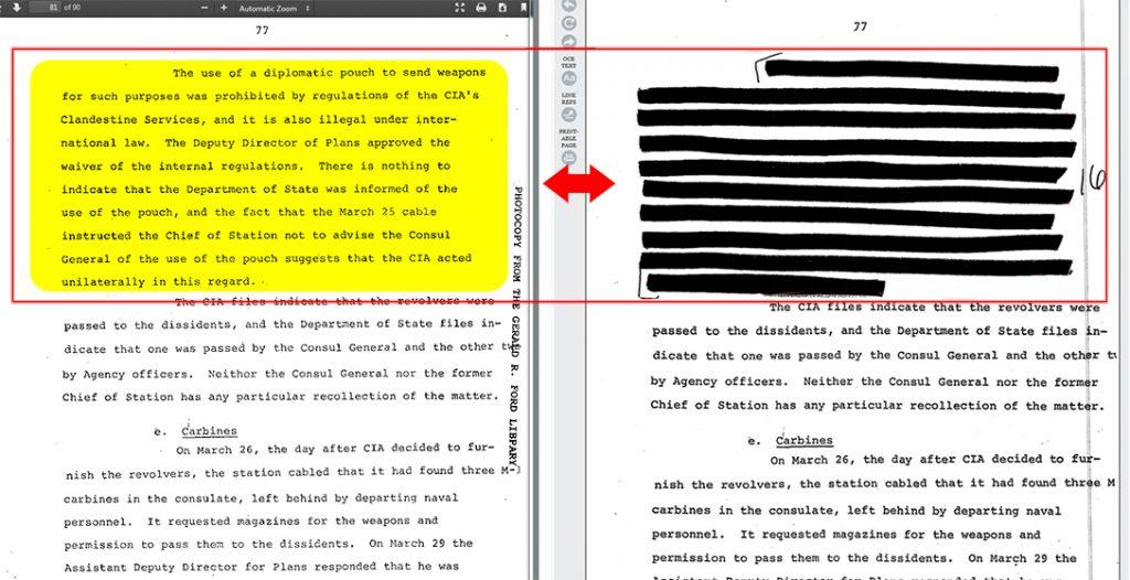 CIA file