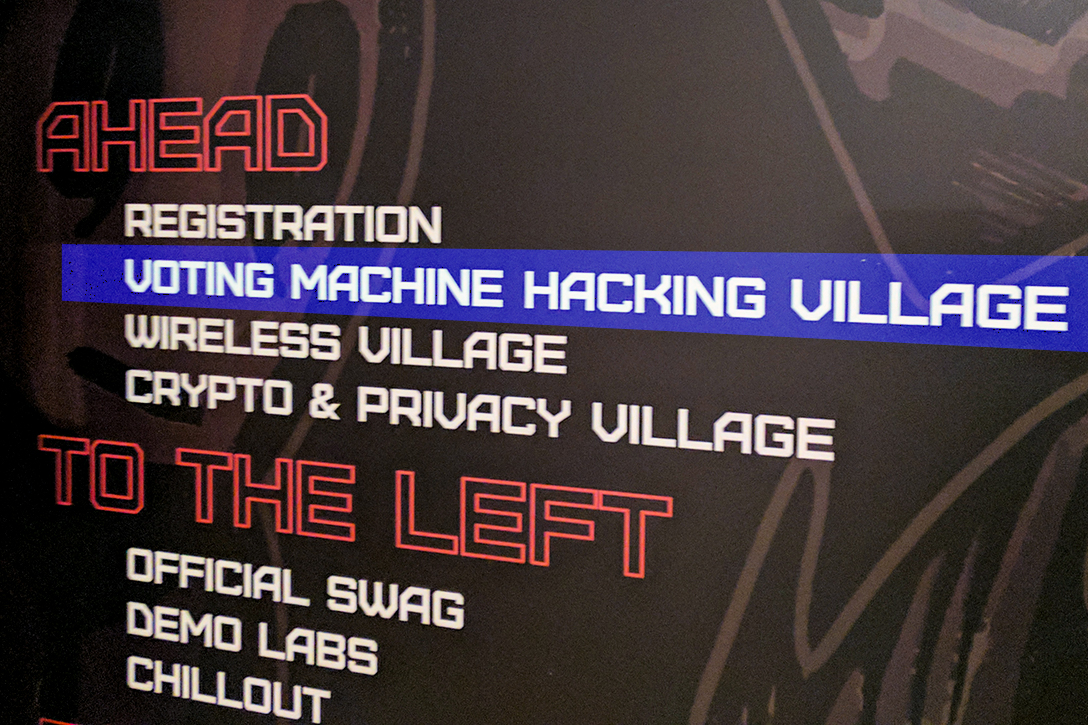 Voting Village, DEF CON 25
