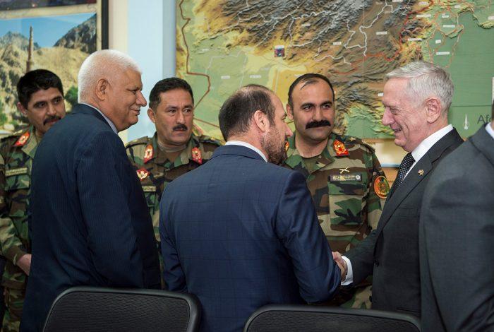 James Mattis, Afghanistan