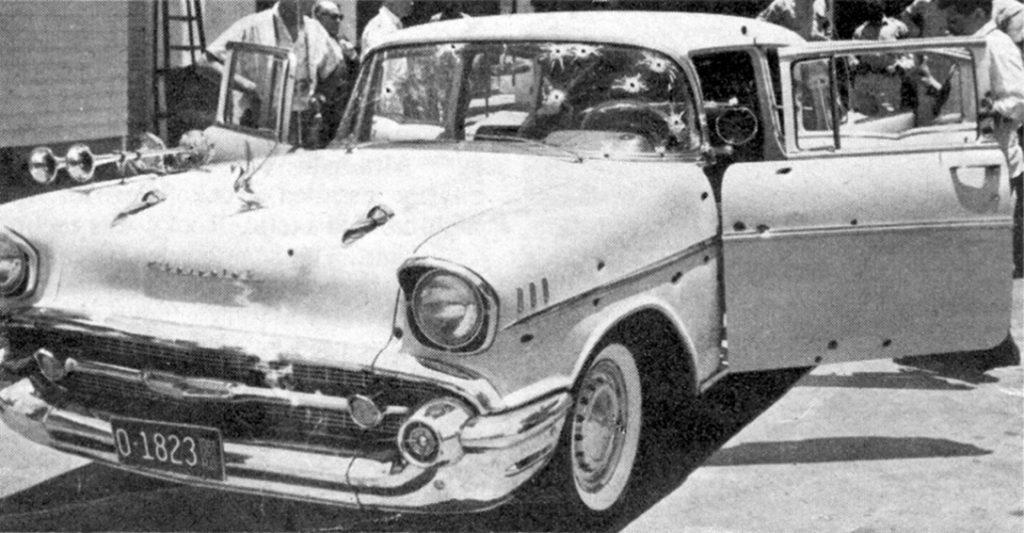 Rafael Trujillo's,1957 Chevy