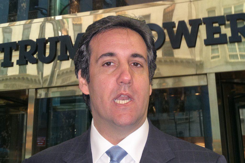 Michael Cohen, Trump Tower_Entrance