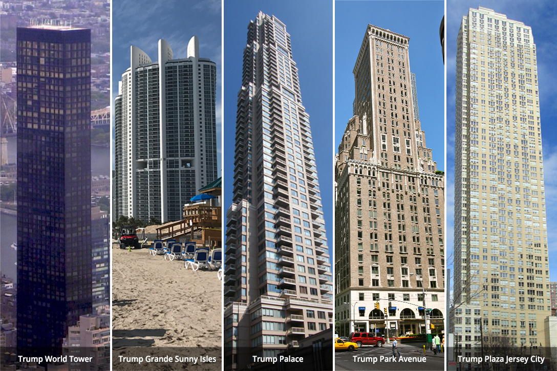 Trump buildings