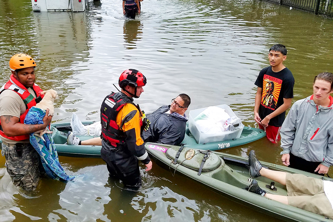 Hurricane Harvey, flooding