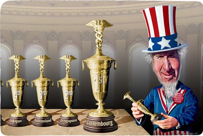 Uncle Sam, Healthcare, participation trophy