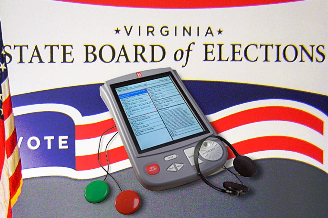 Virginia Board of Elections, DRE