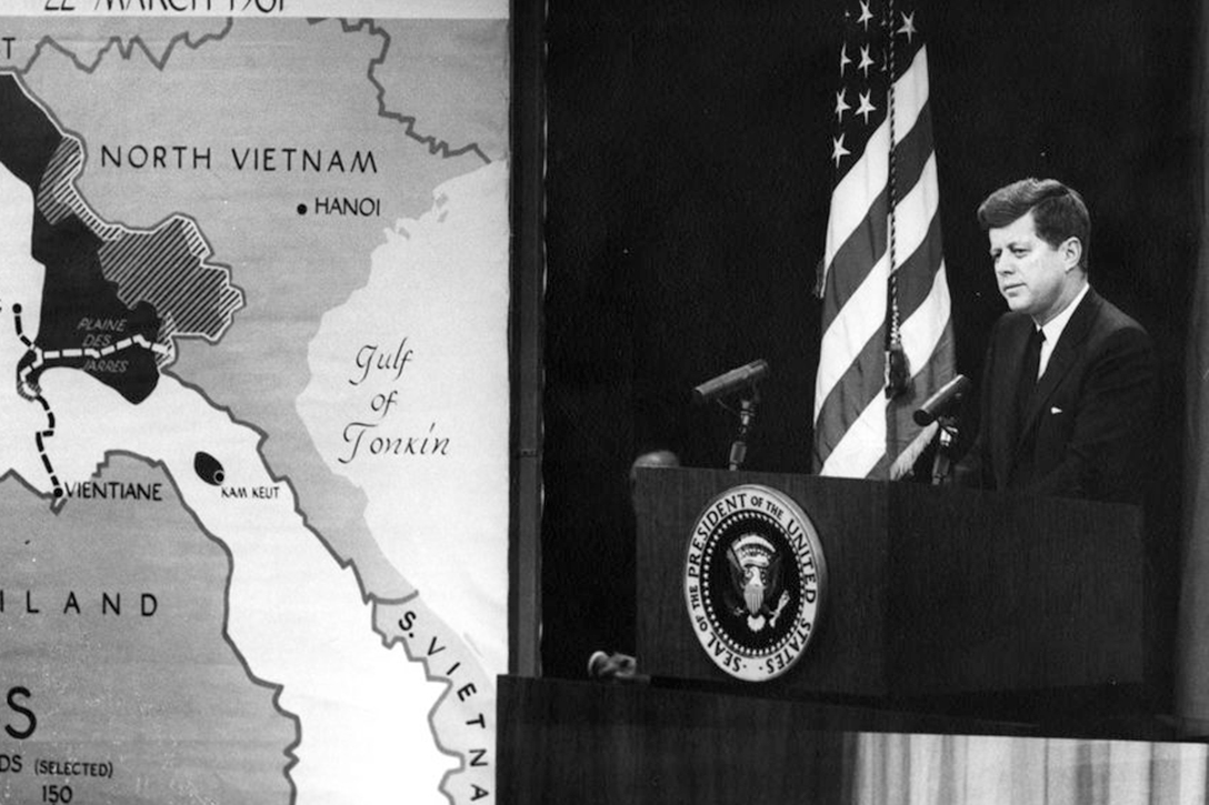 John F. Kennedy, press conference