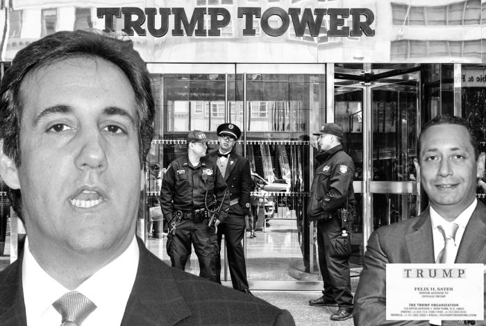 Michael Cohen, Trump Tower, Felix Sater