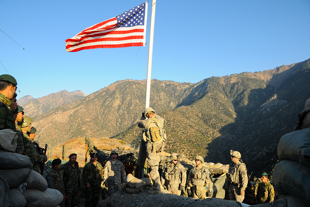 US Flag, Afghanistan
