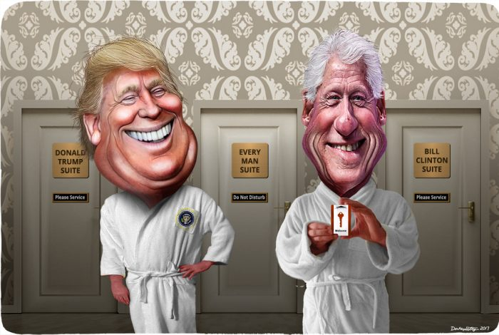 Donald Trump, Bill Clinton