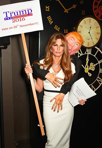Trump Grabber, costume