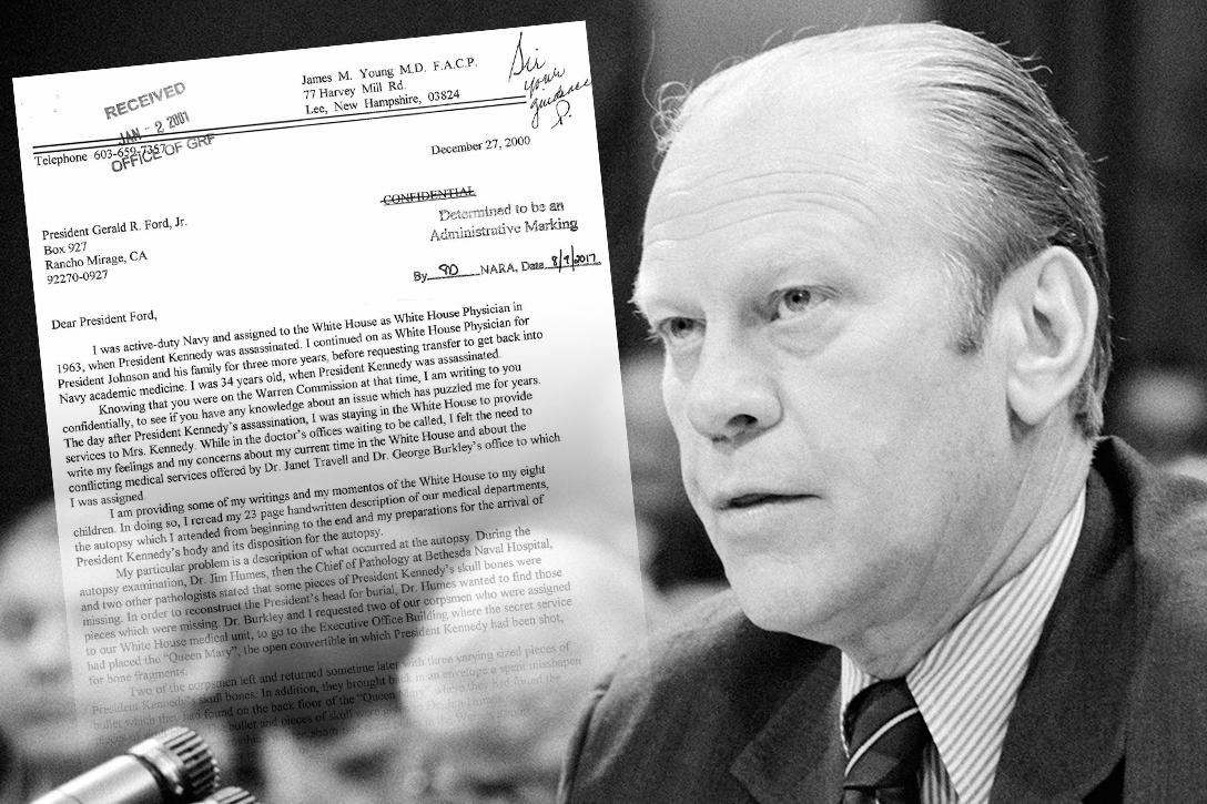 Gerald Ford, JFK