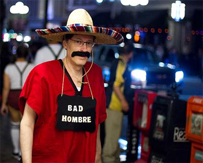 Bad Hombre, costume