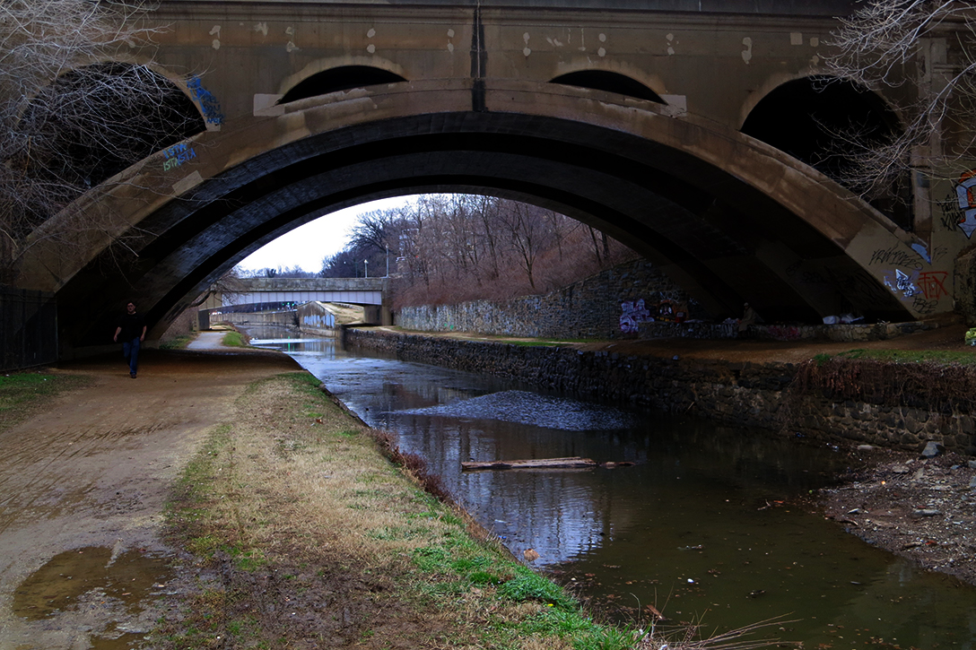 Key Bridge, C&O Canal