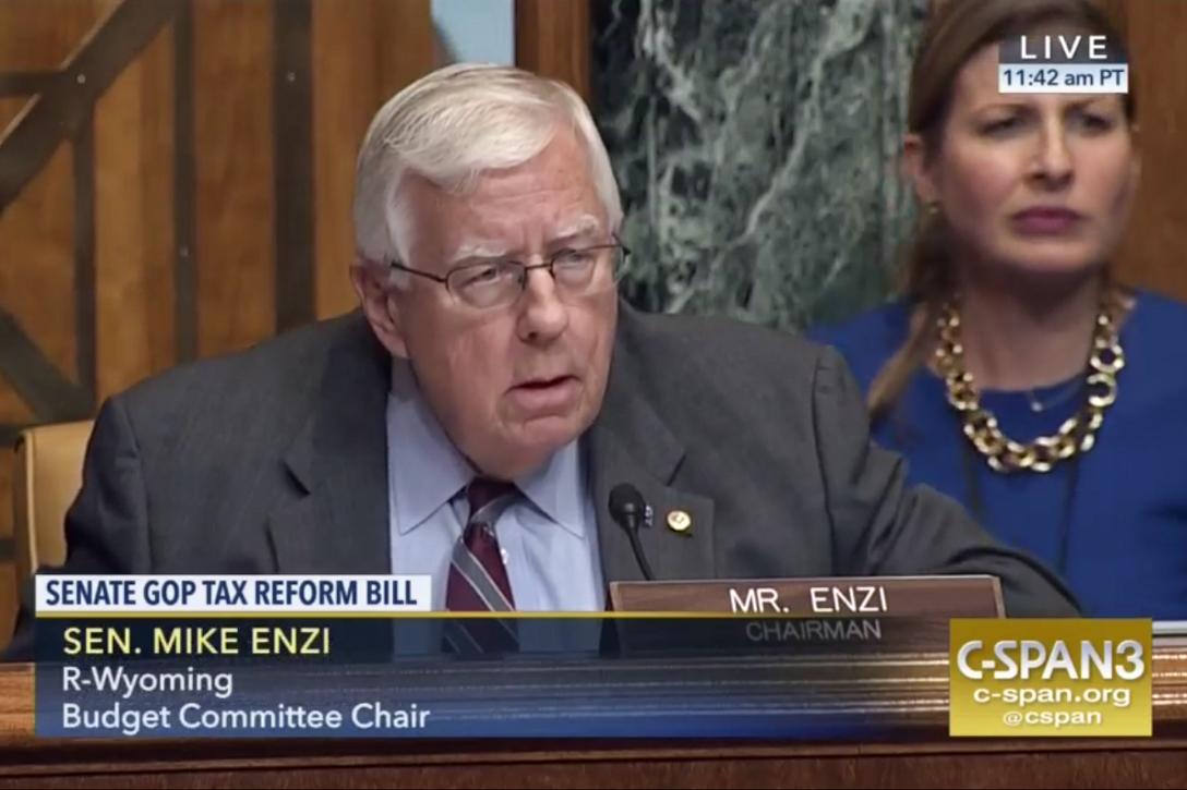 Senator, Mike Enzi