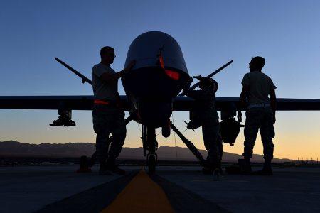 Drone Sunrise