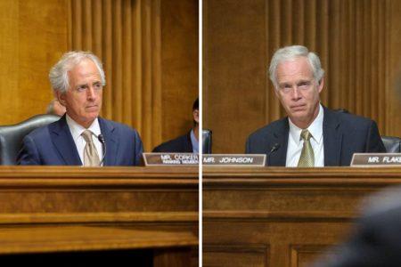 Senator, Bob Corker, Senator Ron Johnson