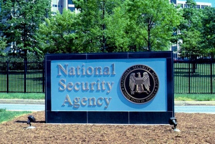 NSA, sign