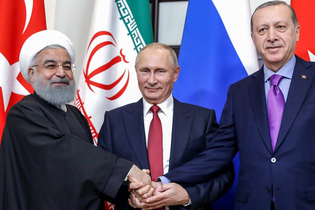 Iran Russia Turkey