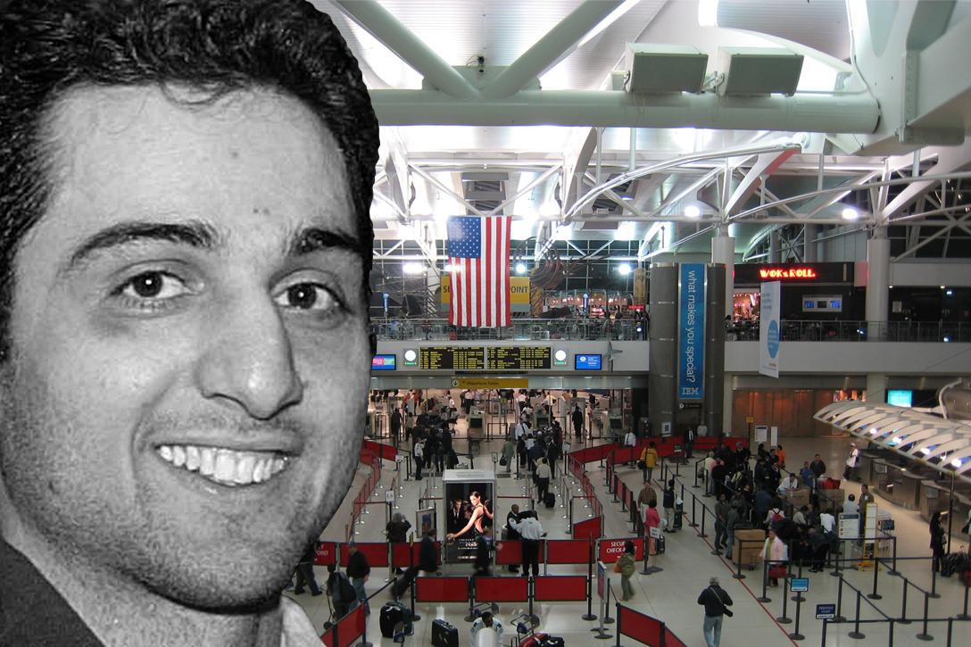 Tamerlan Tsarnaev, JFK, airport