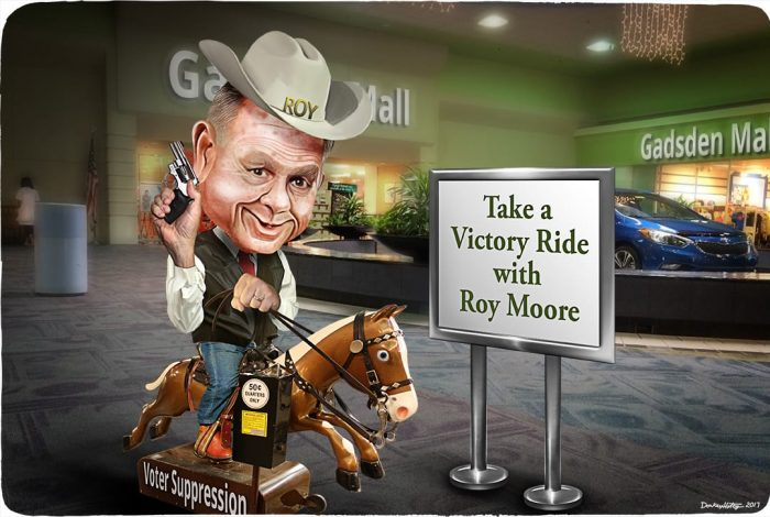 Roy Moore, Alabama