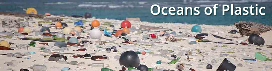ocean, plastic, beach