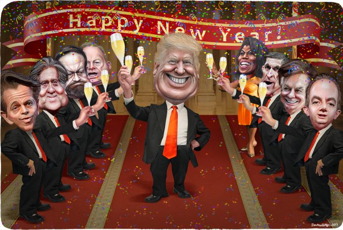 Happy New Year, Donald Trump