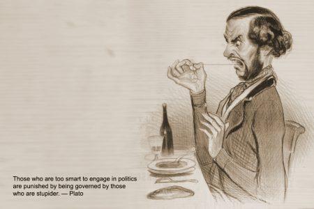 Victor Hugo by Daumier