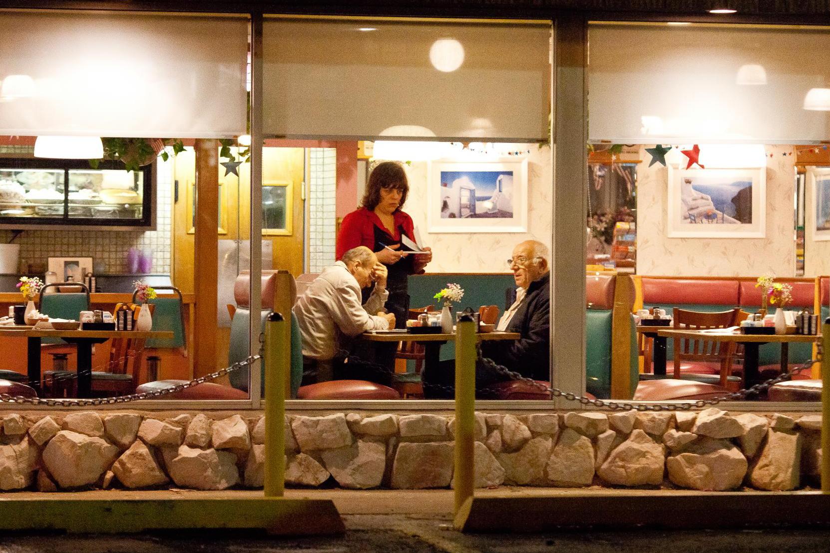 restaurant, server