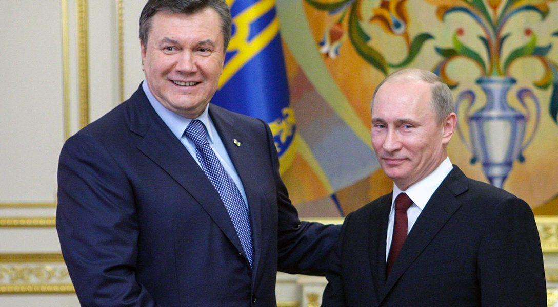 Viktor Yanukovych, Vladimir Putin