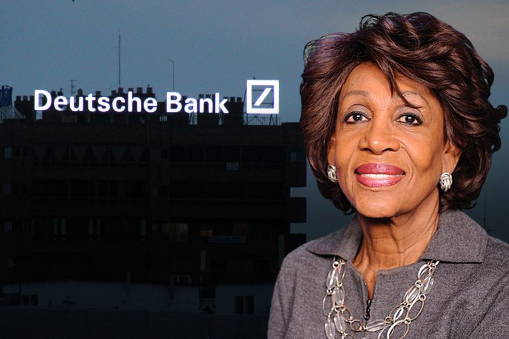 Maxine Waters, Deutsche Bank