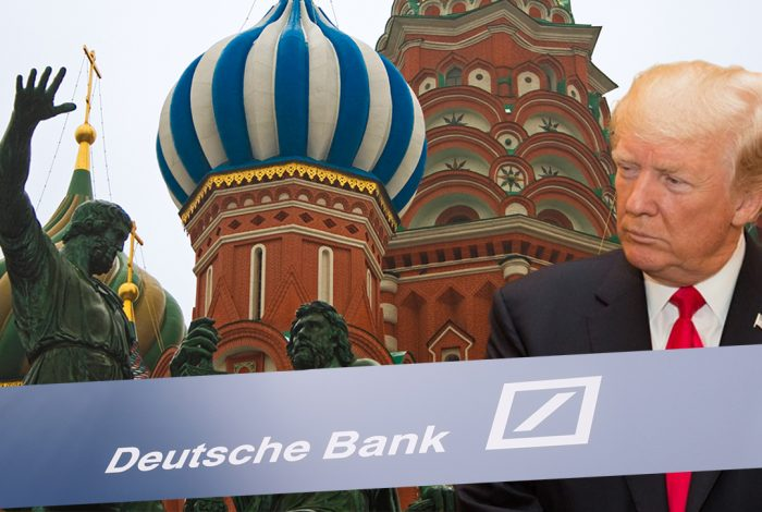 Image result for deutsche bank, trump, oligarchs, mafia