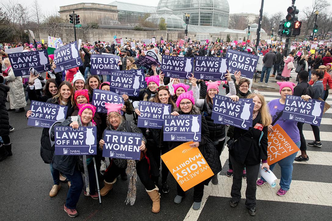 trust women, Women's March