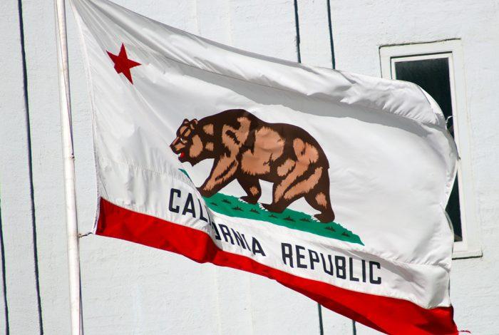 California, flag