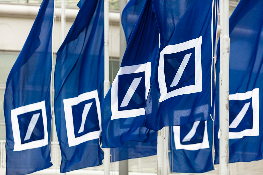 Deutsche Bank, flags