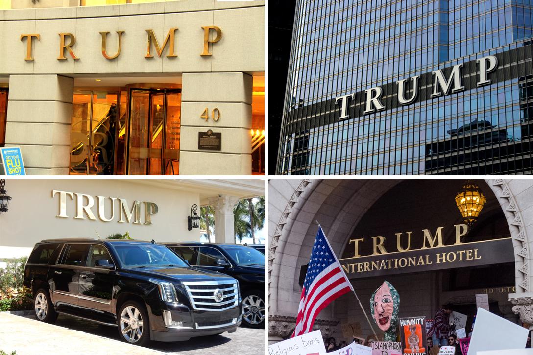 Trump Building, 40 Wall Street, Trump National Doral Miami, Trump Tower Chicago