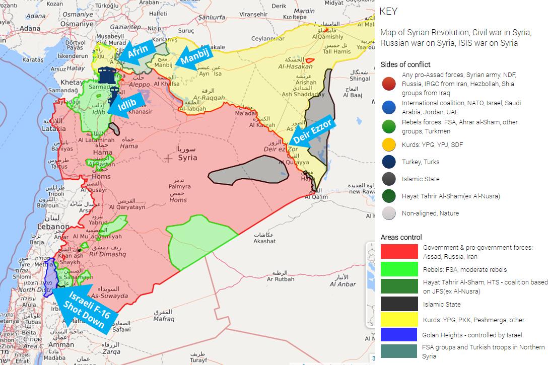 Syria, Turkey, Israel