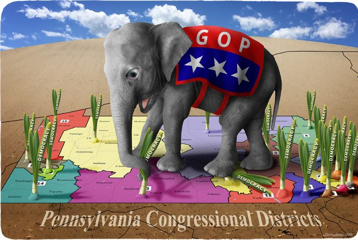 Pennsylvania, congressional districts