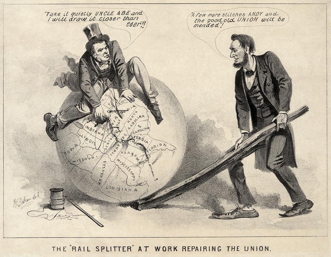 Andrew Johnson, Abraham Lincoln, Reconstruction