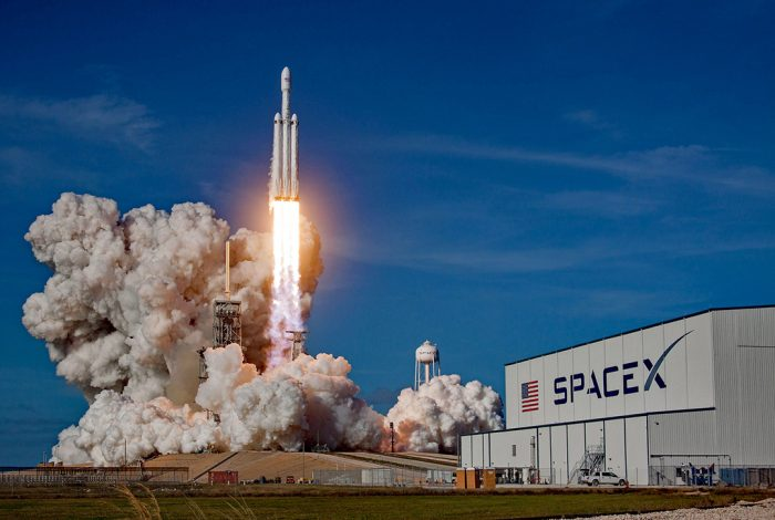 SpaceX, Falcon Heavy, launch pad