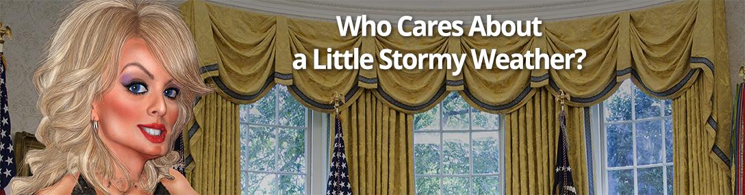Stormy Daniels, Oval Office