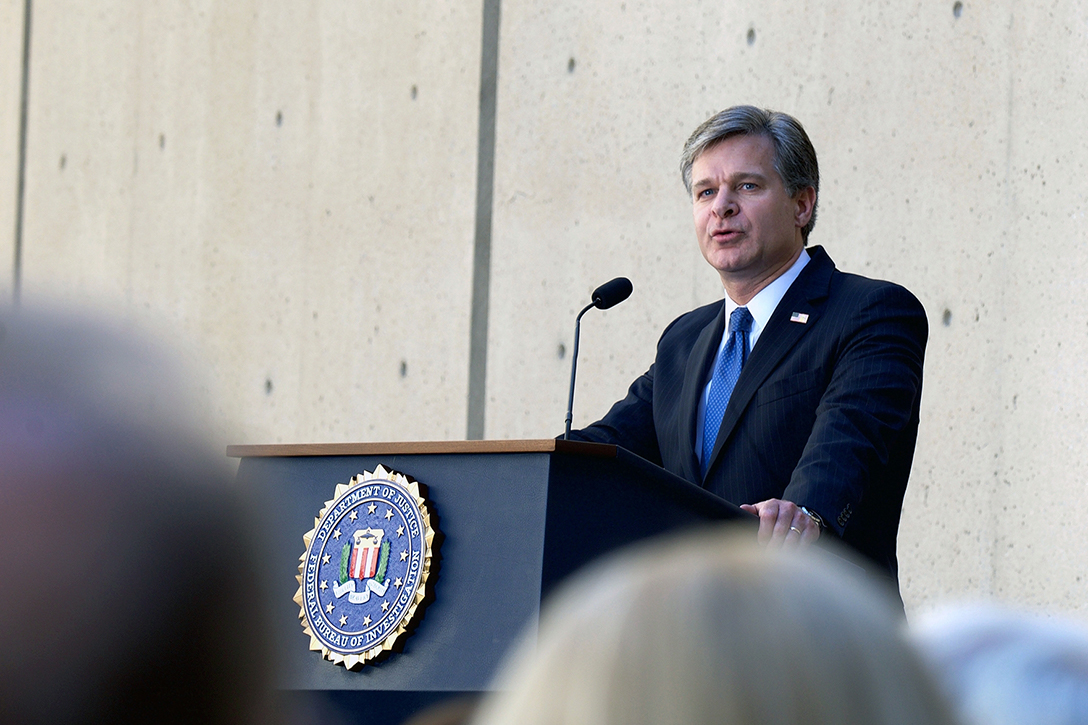 FBI, Christopher Wray