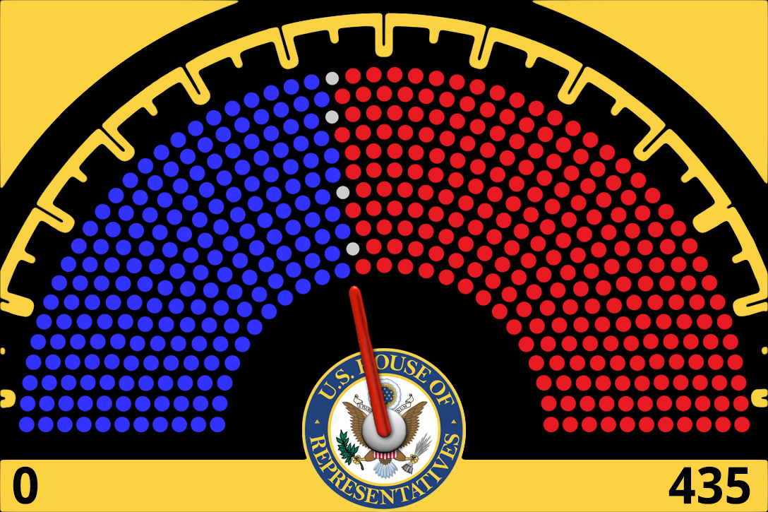 US House, seats