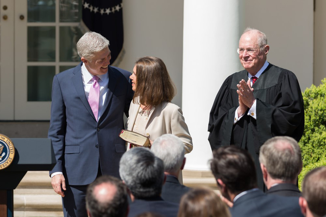 Neil Gorsuch, Anthony Kennedy